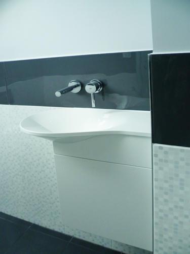 Design Singulier, architecture d'intérieur, salle de bain, lave-mains design