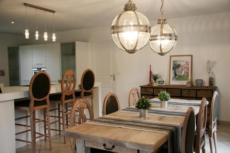 Design Singulier, architecture d'intérieur, salle à manger