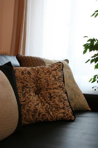Design Singulier, Architecture d'intérieur, coussins