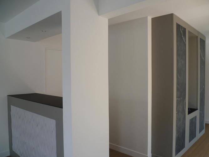 Design Singulier, Architecture d'intérieur, meuble d'entrée sur-mesure