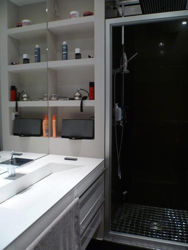 Design Singulier, architecture d'intérieur, salle de bain, douche