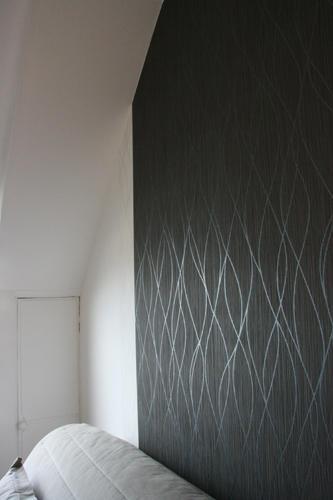 Design Singulier, Architecture d'intérieur, tapisserie mate et brillante