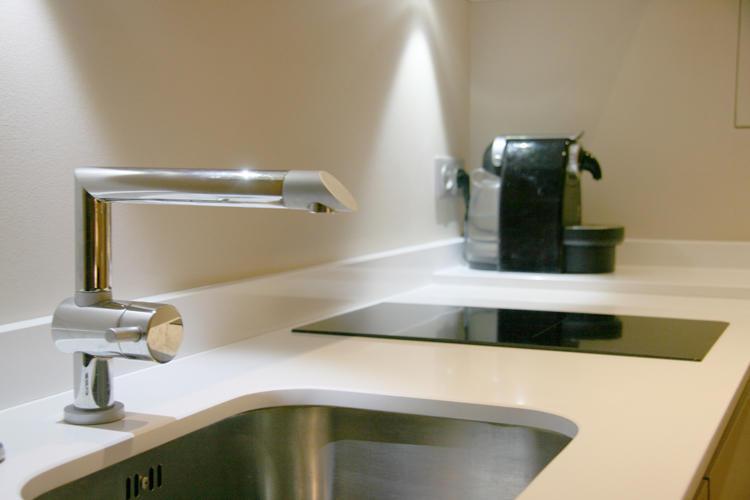Design Singulier, architecture d'intérieur, cuisine, évier
