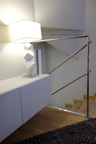 Design Singulier, Architecture d'intérieur, garde du corps chrome
