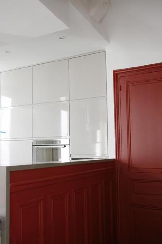 Design Singulier, architecture d'intérieur, cuisine ouverte