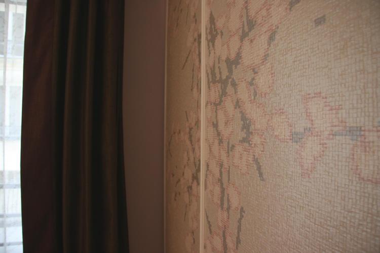 Design Singulier, Architecture d'intérieur, tapisserie fleurs japonaises