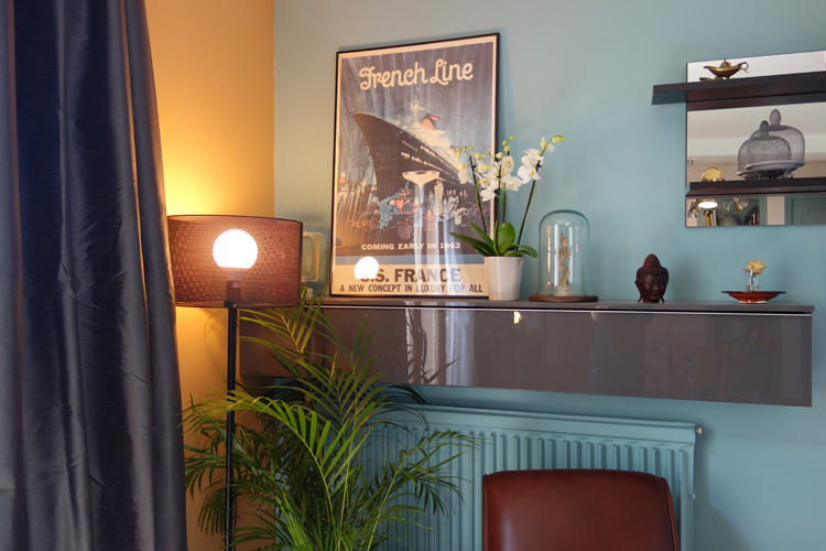 Design Singulier, Architecture d'intérieur, meuble laqué gris