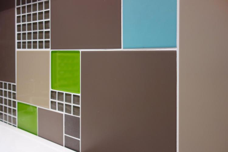 Design Singulier, Architecture d'intérieur, carrelage damier