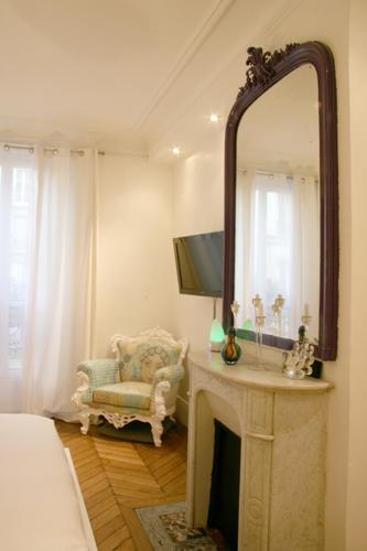 Design Singulier, architecture d'intérieur, chambre, cheminée