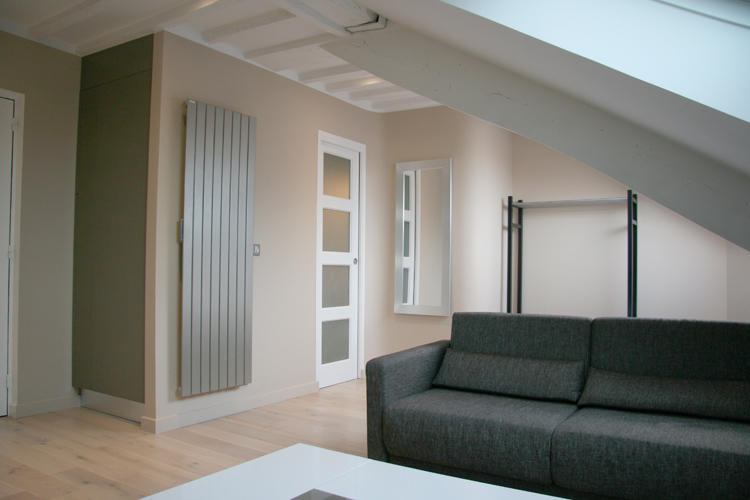 Design Singulier, architecture d'intérieur, canapé studio
