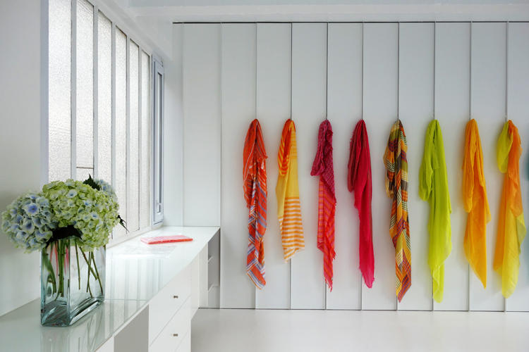 Design Singulier, Architecture d'intérieur et coordination de l'image de marque, agencement showroom