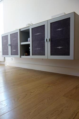 Design Singulier, Architecture d'intérieur, meuble galuchat