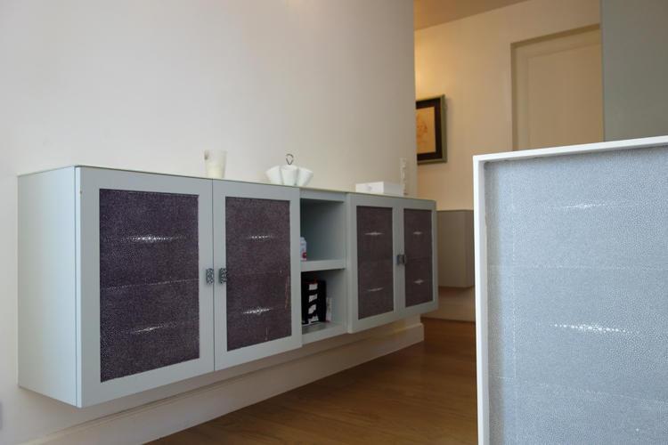 Design Singulier, Architecture d'intérieur, meuble suspendu sur-mesure