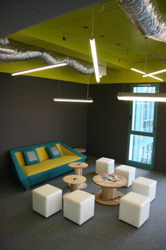 Design Singulier, Architecture d'intérieur et coordination de l'image de marque, décoration, co-working
