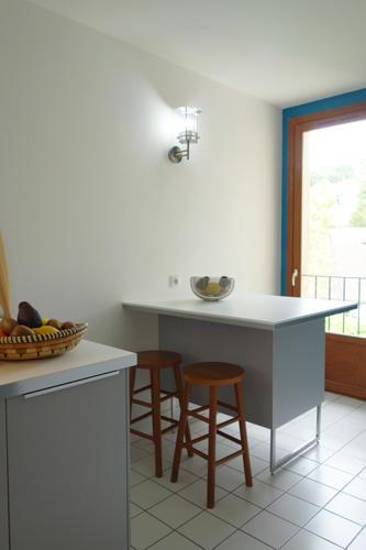 Design Singulier, architecture d'intérieur, cuisine, ilot de cuisine