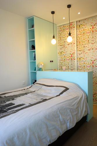 Design Singulier, Architecture d'intérieur, tête de lit sur-mesure
