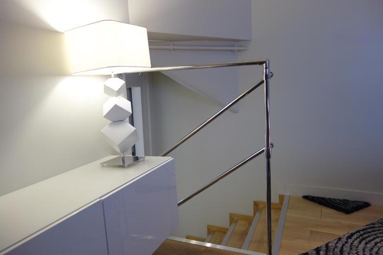 Design Singulier, Architecture d'intérieur, lampe cube