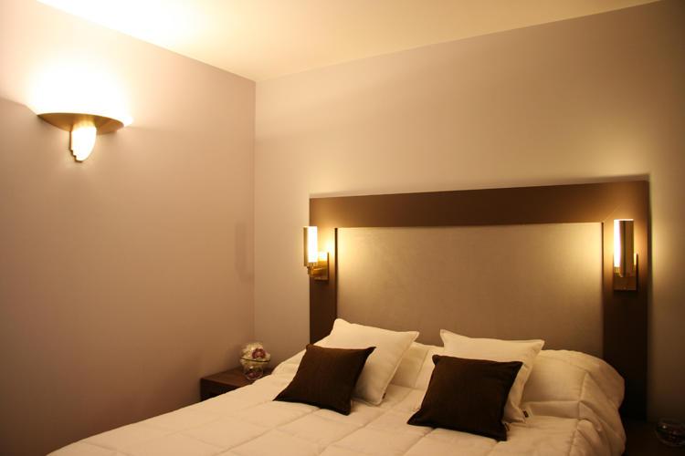 Design Singulier, architecture d'intérieur, chambre, tête de lit