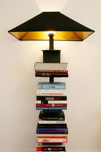 Design Singulier, Architecture d'intérieur, lampadaire bibliothèque