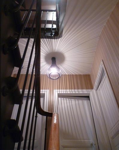 Design Singulier, architecture d'intérieur, escalier
