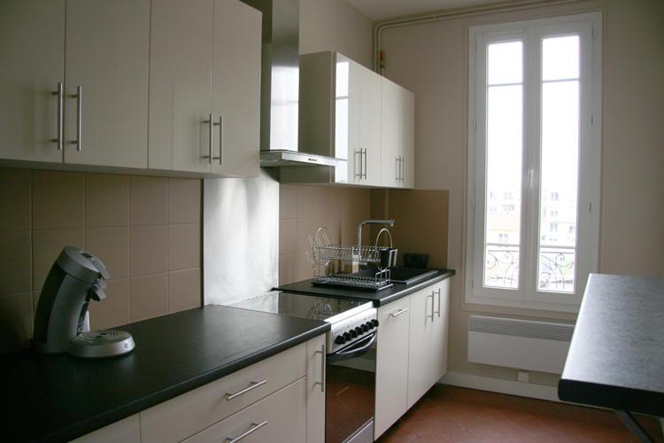 Design Singulier, architecture d'intérieur, cuisine crème, tomette