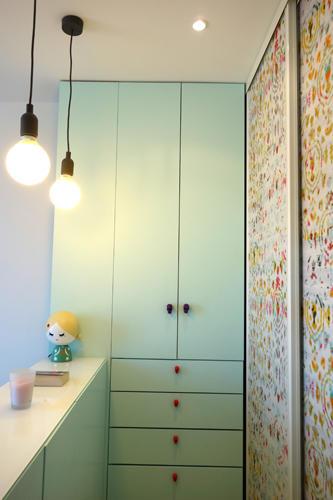 Design Singulier, architecture d'intérieur, chambre, dressing