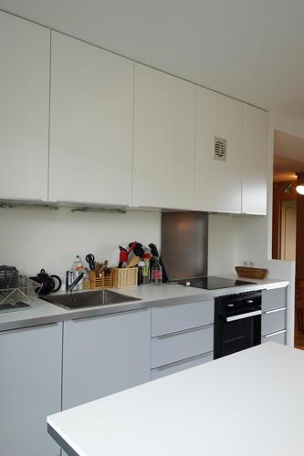 Design Singulier, Architecture d'intérieur, cuisine laque mate