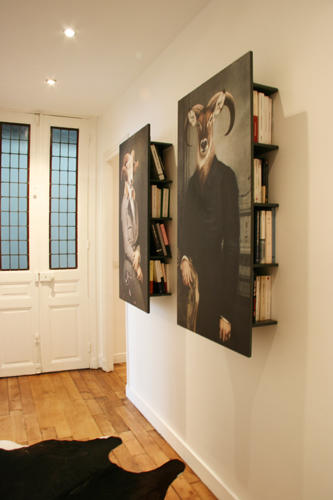 Design Singulier, Architecture d'intérieur, bibliothèque