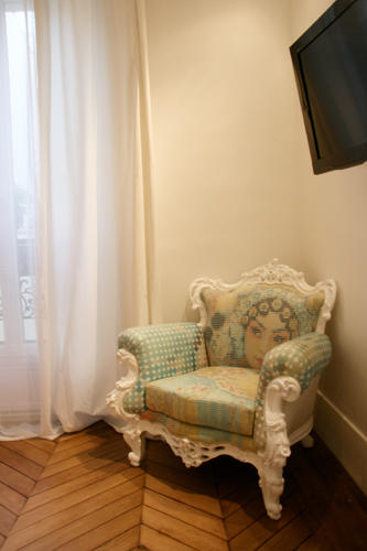 Design Singulier, Architecture d'intérieur, fauteuil baroque