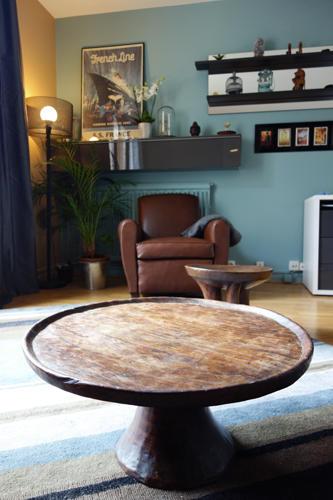 Design Singulier, Architecture d'intérieur, table bois