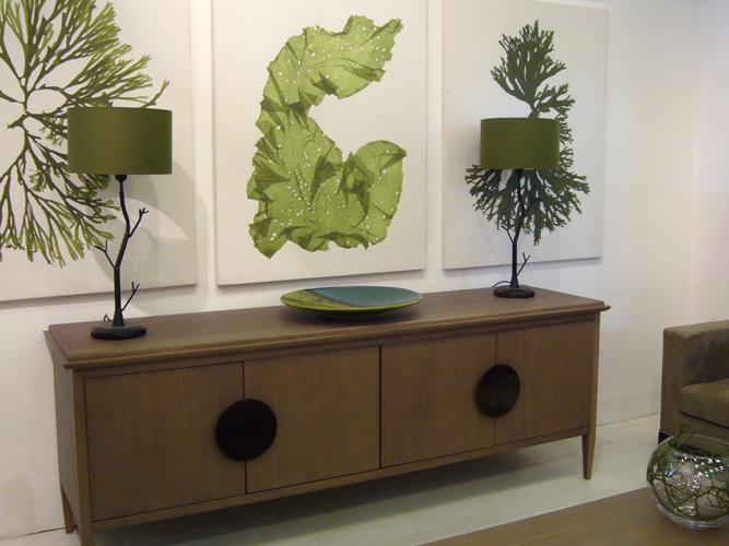 Design Singulier, architecture d'intérieur, séjour, algues