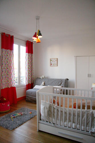 Design Singulier, architecture d'intérieur, chambre enfant couleur