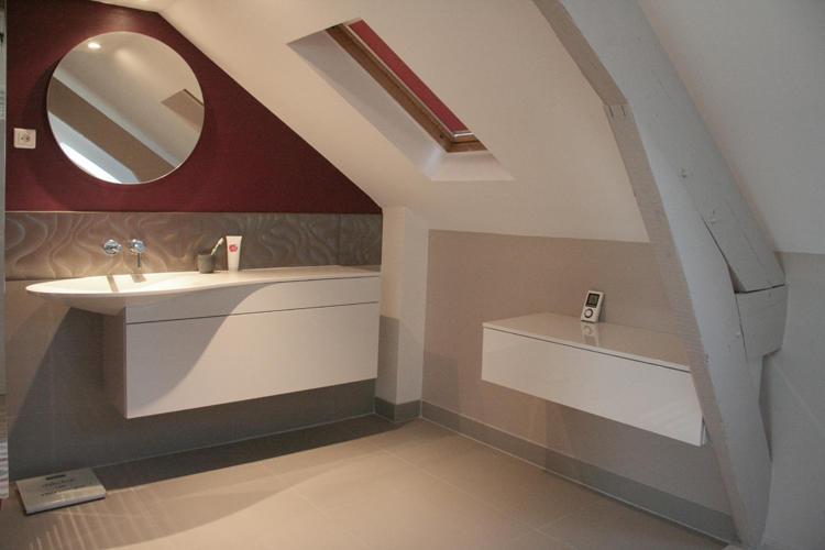 Design Singulier, architecture d'intérieur, salle de bain burgbad