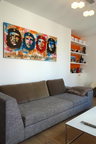 Design Singulier, architecture d'intérieur, canapé séjour