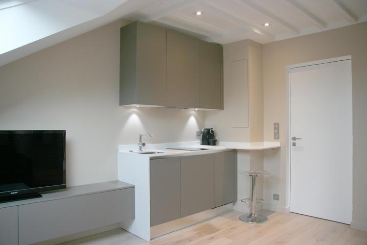 Design Singulier, architecture d'intérieur, cuisine studio