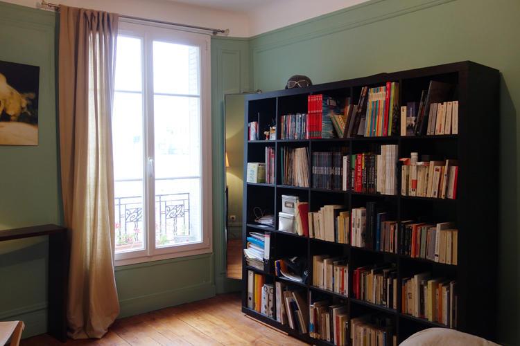 Design Singulier, architecture d'intérieur, chambre verte