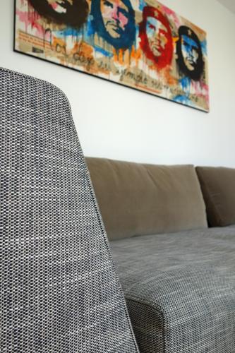 Design Singulier, Architecture d'intérieur, canapé tissus et velour