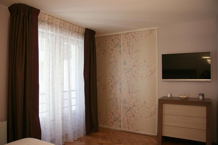 Design Singulier, Architecture d'intérieur, rideaux sur-mesure marrons