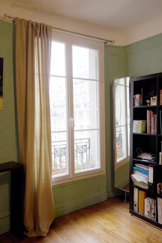 Design Singulier, Architecture d'intérieur, rideaux lin