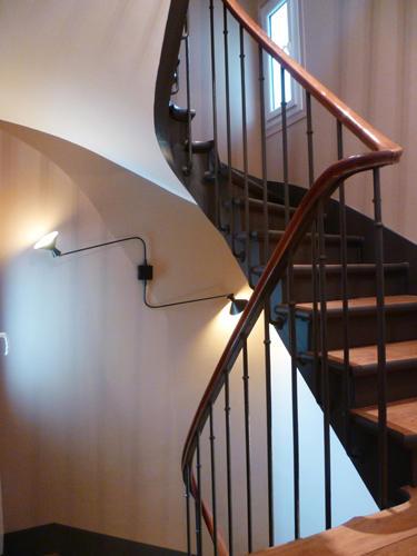 Design Singulier, Architecture d'intérieur, applique escalier