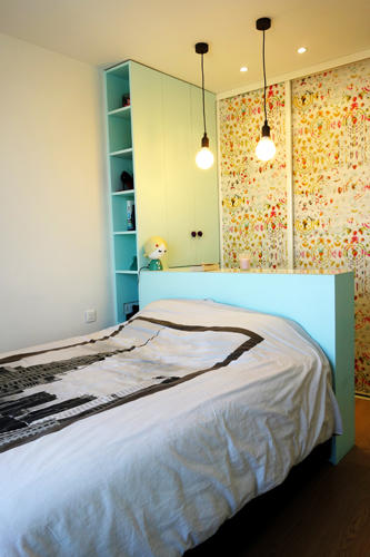 Design Singulier, Architecture d'intérieur, suspension tête de lit