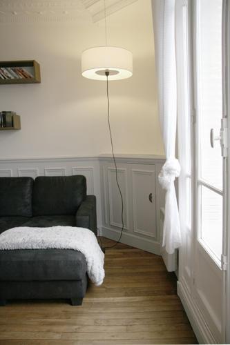 Design Singulier, architecture d'intérieur, suspension séjour