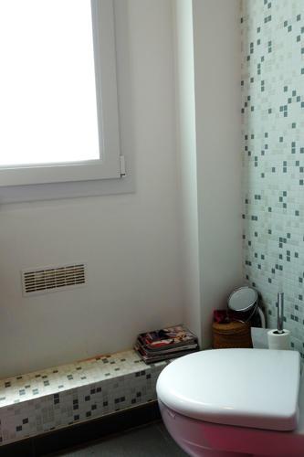 Design Singulier, architecture d'intérieur, salle de bain, wc, mosaïque