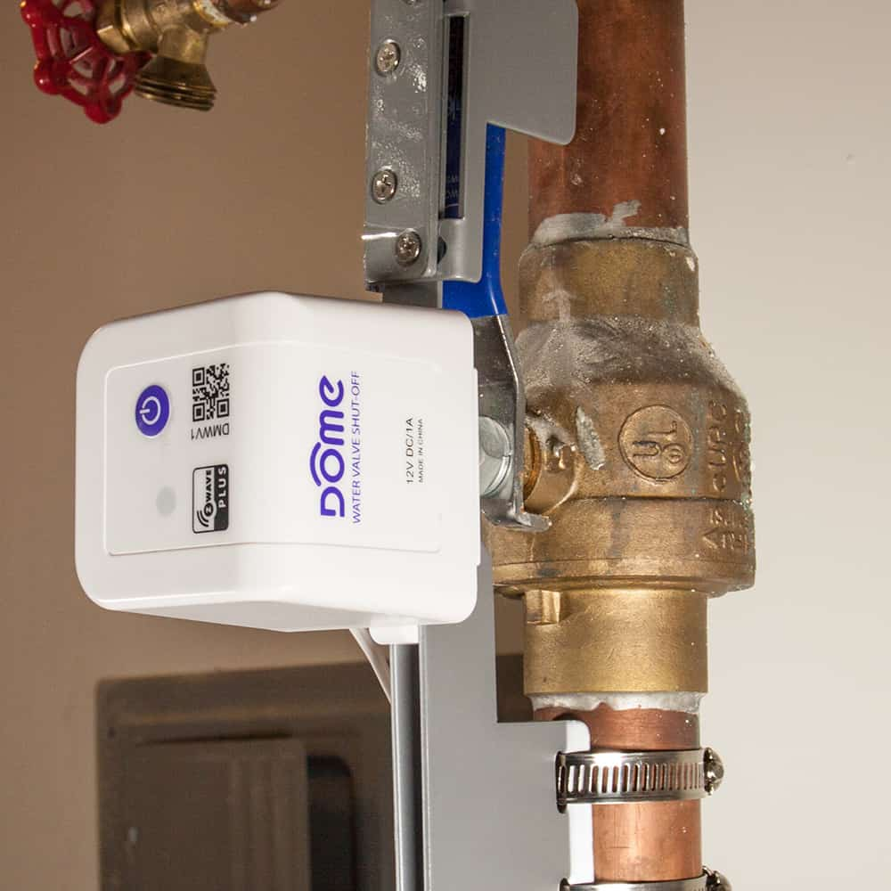 Z Wave Plus Smart Water Main Shutoff Sensors Devices And