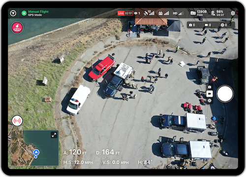 Live Stream with DroneDeploy allows you to conduct site reconnaissance, address critical issues, or communicate project progress, all from your office.