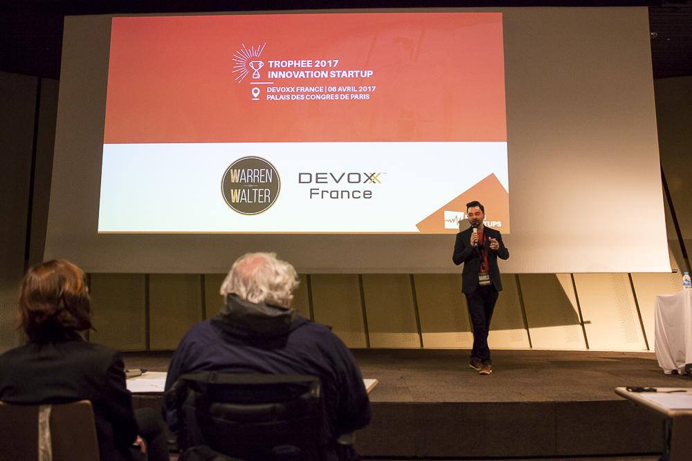Startup village à Devoxx France