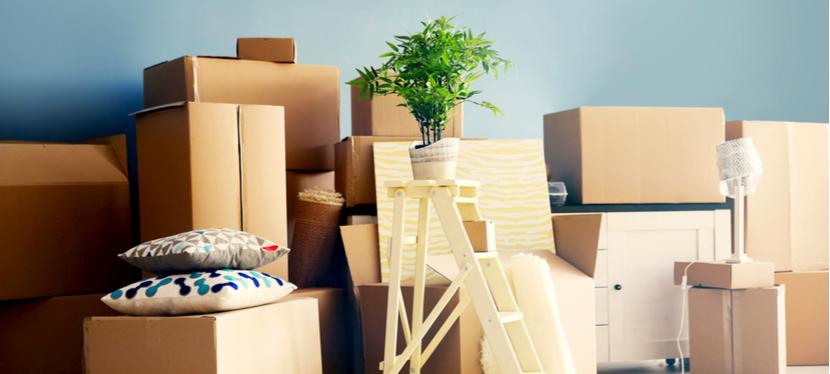 Des cartons de déménagement de petite taille pour déménager léger