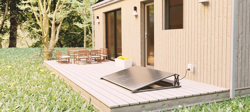 Le kit solaire d'ekWateur