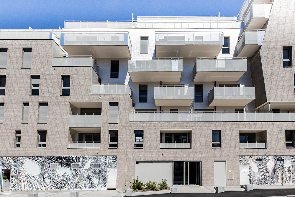 Facade du programme immobilier neuf au 21 rue Jean Jaures à Gentilly