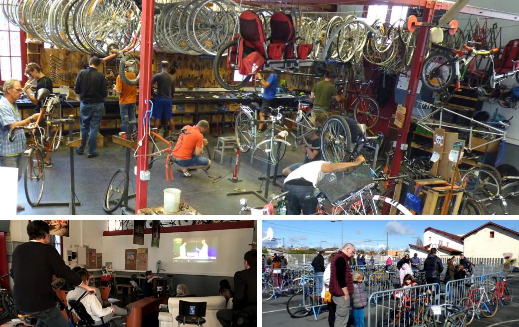 Atelier Cycles & Manivelles à Bègles - Enercoop Nouvelle-Aquitaine